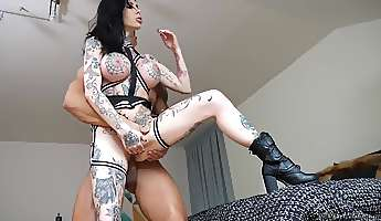 Supreme anal with an evil milf in heats